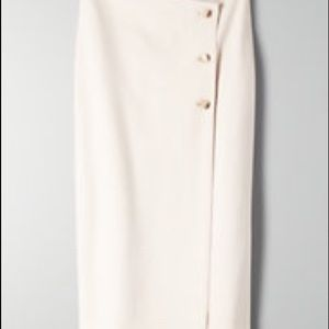 Aritzia Skirts - Aritzia Button Up Skirt